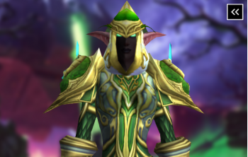 Druid Tier 3 Appearance - Dreamwalker Raiment Transmog Set