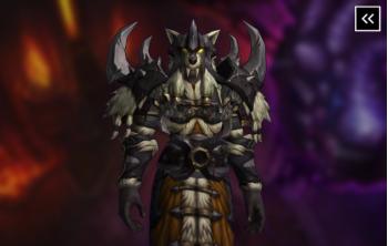 Kor'kron Shaman's Treasure - Dark Shaman Armor Set