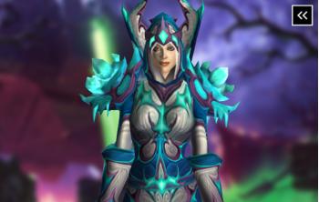 Mage Tier 3 Appearance - Frostfire Regalia Transmog Set