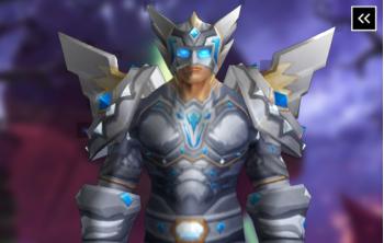 Paladin Tier 3 Appearance - Redemption Armor Transmog Set