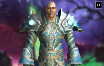 Priest Tier 3 Appearance - Vestments of Faith Transmog Set