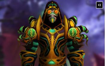 Warlock Tier 3 Appearance - Plagueheart Raiment Transmog Set
