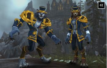 Worgen Heritage Armor Boost