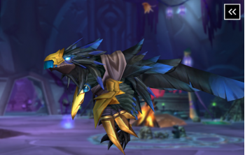 Reins of the Raven Lord Mount