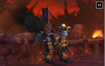 Vicious War Mechanostrider Mount