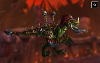Vicious War Raptor Mount