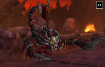 Vicious War Scorpion Mount