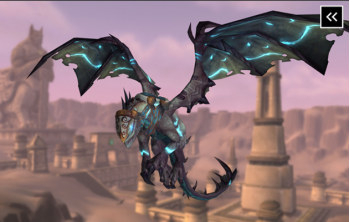 Reins of the Drake of the North Wind Mount