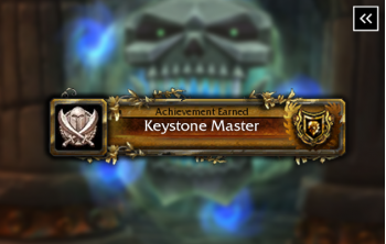 Shadowlands Keystone Master: Season One - Sintouched Deathwalker Mount