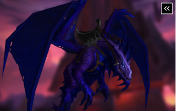 Uncorrupted Voidwing (N'Zoth Mount)